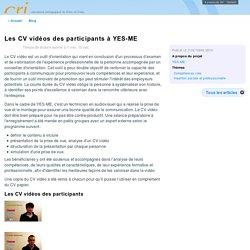 exemples de CV vidéos - Orientation professionnelle Greta en Velay