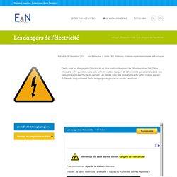Ressources l 39 enseignement des sciences pearltrees for Les dangers de l electricite