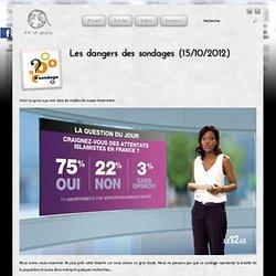 Les dangers des sondages (15/10/2012)