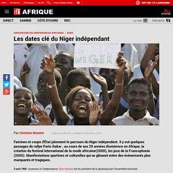 Les dates clé du Niger indépendant