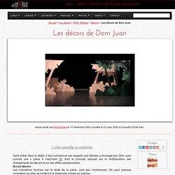 Les décors de Dom Juan