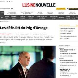 Les défis RH du Pdg d'Orange - Social