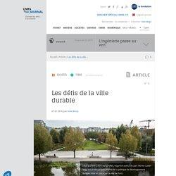 Les défis de la ville durable