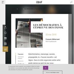 Les démocraties à l'épreuve des infox