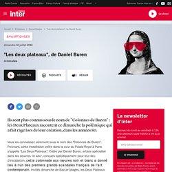"""""""Les deux plateaux"""" Daniel Buren"""