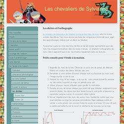 Les dictées - Site de classesylvianneparent !