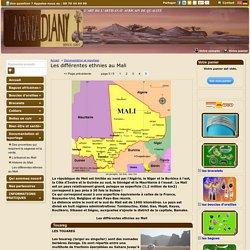 Les différentes ethnies au Mali