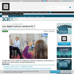 Les digital natives existent-ils