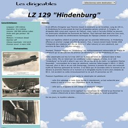 Les dirigeables - LZ 129 Hindenburg