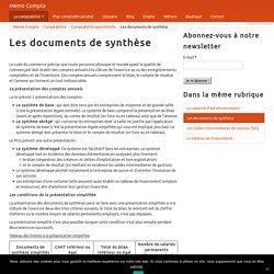 Les documents de synthèse