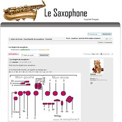 - Les doigtés du saxophone - : Générale