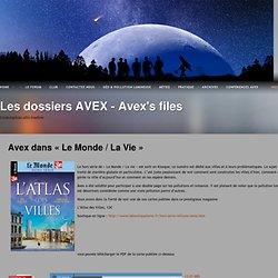 Les dossiers AVEX – Avex's files