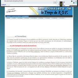 Les Dossiers de La Troupe du ROY - L'acoustique