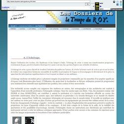 Les Dossiers de La Troupe du ROY - L'éclairage