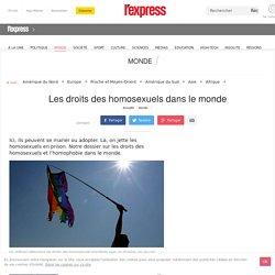 Les droits des homosexuels dans le monde