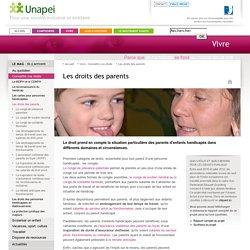 Les droits des parents - Les droits des parents