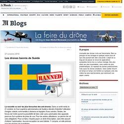 Les drones bannis de Suède