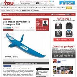 Les drones surveillent la Corse pour EDF