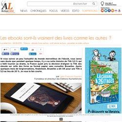 Les ebooks sont-ils vraiment des livres comme les autres?