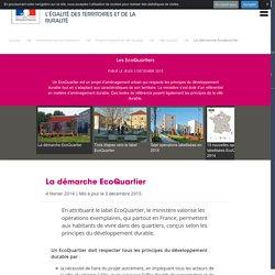 Les EcoQuartiers