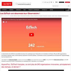 Les EdTech ont désormais leur Observatoire