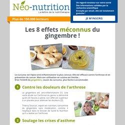 Les 8 effets méconnus du gingembre