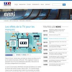 Les effets de la TV pour les marques - News