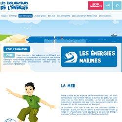 Les énergies marines