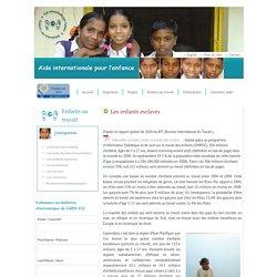 Les enfants esclaves-Aide Internationale pour l'Enfance