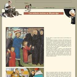 Les enfants moines au Moyen-âge
