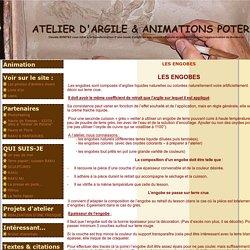 LES ENGOBES - ATELIER D'ARGILE & ANIMATIONS POTERIE