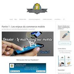 Les enjeux du commerce mobile