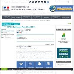Les enjeux de la COP 21