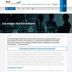 Les enjeux des blockchains