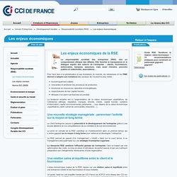 Les enjeux économiques de la RSE - CCI France