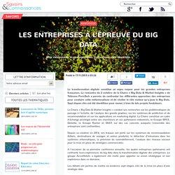 Les entreprises à l'épreuve du Big data