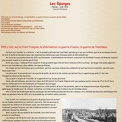 Les EPARGES fevrier avril 1915