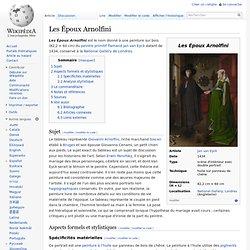 VAN EYCK Les Époux Arnolfini