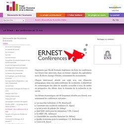 Les Ernest : des conférences de 15 min
