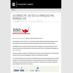 Les ERNEST.fr : un TED à la française par Normale Sup