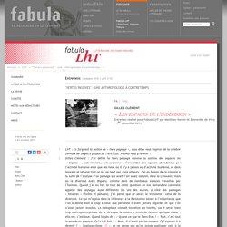 «Les espaces de l'indécision» (LhT Fabula)