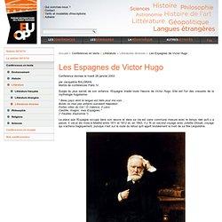 Les Espagnes de Victor Hugo
