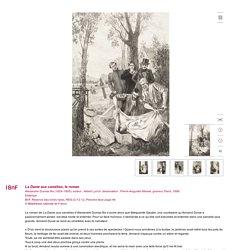 La Dame aux camélias, le roman
