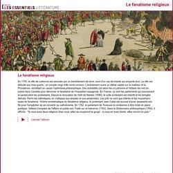 site Gallica: album, le fanatisme religieux au 18e