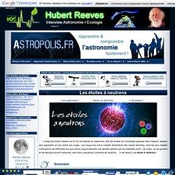 Les étoiles à neutrons
