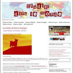 Les études de kiné en Espagne