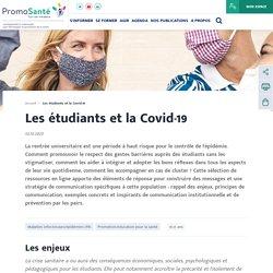 Les étudiants et la Covid-19