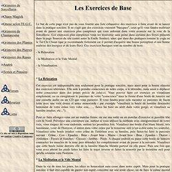 Les Exercices de Base