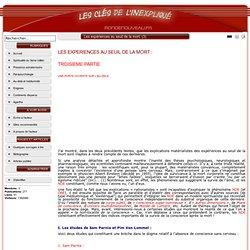 3/4 PAGE Les expériences au seuil de la mort - SITE Les clés de l'inexpliqué