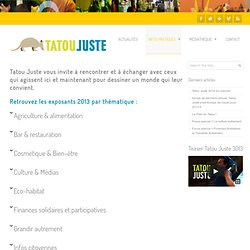 Exposants – Tatou Juste